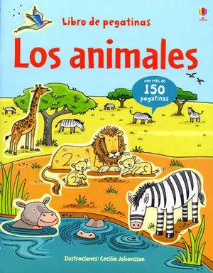 LIBRO DE PEGATINAS ANIMALES