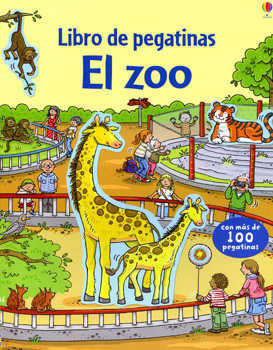 LIBRO PEGATINAS ZOO