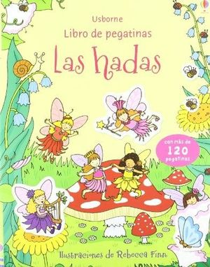 LIBRO DE PEGATINAS LAS HADAS