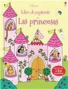 LIBRO DE PEGATINAS. LAS PRINCESAS