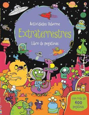 LIBRO DE PEGATINAS. EXTRATERRESTRES