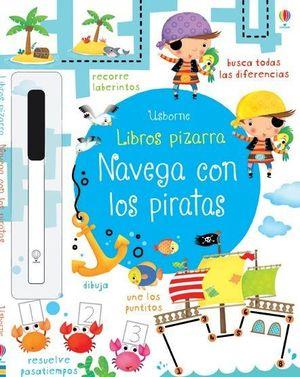 LIBRO PIZARRA. NAVEGA CON LOS PIRATAS