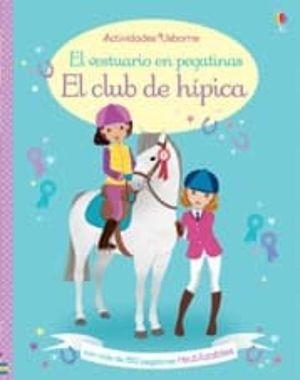 EL VESTURADIO EN PEGATINAS. CLUB DE HIPICA