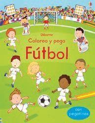 COLOREO Y PEGO. FUTBOL