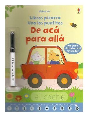 LIBROS PIZARRA. DE ACA PARA ALLA PIZARRA