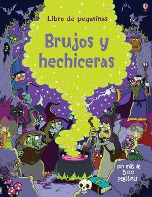 LIBRO DE PEGATINAS. BRUJAS Y MAGOS