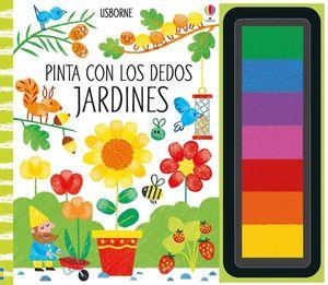 JARDINES PINTA CON LOS DEDOS