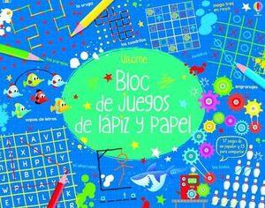 BLOC DE JUEGOS DE LAPIZ Y PAPEL