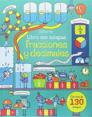 LIBRO CON SOLAPAS. FRACCIONES Y DECIMALES