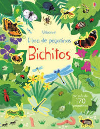 LIBRO DE PEGATINAS. BICHITOS