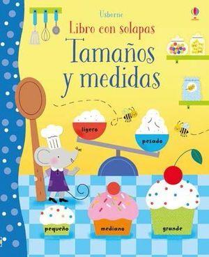LIBRO CON SOLAPAS. TAMAÑOS Y MEDIDAS