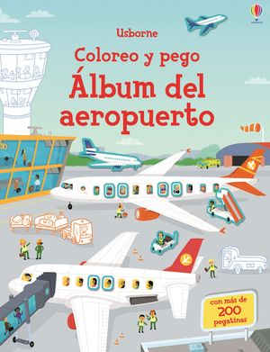 COLOREO Y PEGO. ALBUM DEL AEROPUERTO