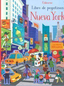 LIBRO DE PEGATINAS. NUEVA YORK