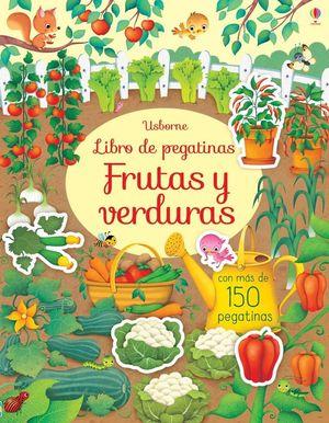 LIBRO DE PEGATINAS. FRUTAS Y VERDURAS