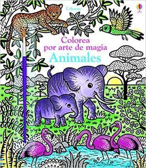 ANIMALES COLOREA POR ARTE DE MAGIA