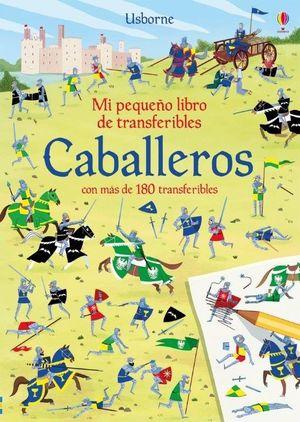 MI PEQUEÑO LIBRO DE TRANSFERIBLES. CABALLEROS
