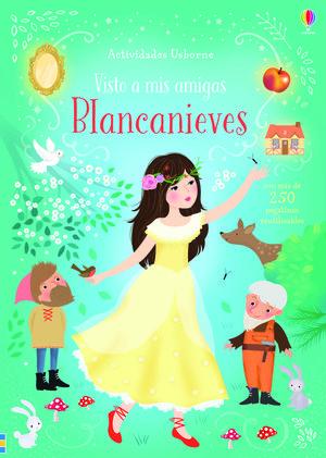 LIBRO DE PEGATINAS. BLANCANIEVES