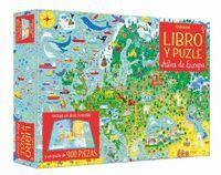 LIBRO PUZZLE. ATLAS DE EUROPA
