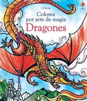 COLOREA POR ARTE DE MAGIA DRAGONES