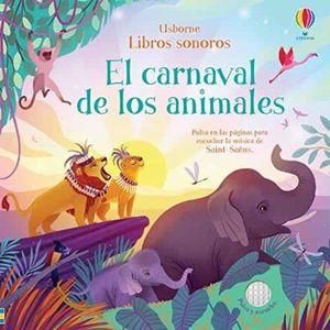 LIBROS SONOROS. EL CARNAVAL DE LOS ANIMALES