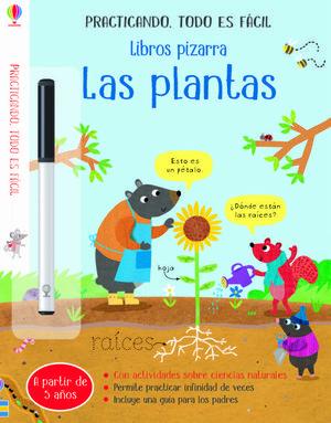 LIBROS PIZARRA. LAS PLANTAS