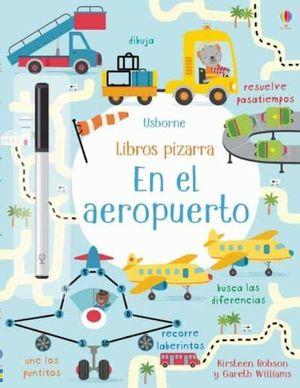 LIBRO PIZARRA. EN EL AEROPUERTO