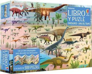 LIBRO Y PUZZLE. DINOSAURIOS LINEA DEL TIEMPO