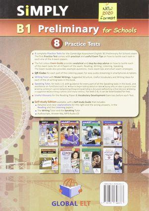 SIMPLY B1 PET FOR SCHOOLS ATTENDIS PACK CAMBRIDGE