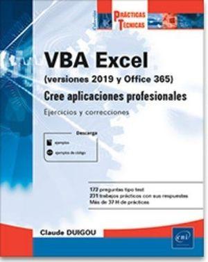 VBA EXCEL VERSIONES 2019 Y OFFICE 365