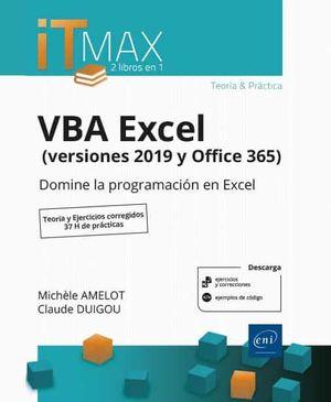 VBA EXCEL VERSIONES 2019 Y OFFICE 365 TEORIA Y EJERCICIOS