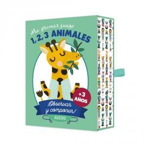 MI PRIMER JUEGO. 1, 2, 3 ANIMALES