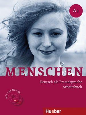 MENSCHEN ARBEITSBUCH A1 MIT AUDIO-CDS (2) HUEBER