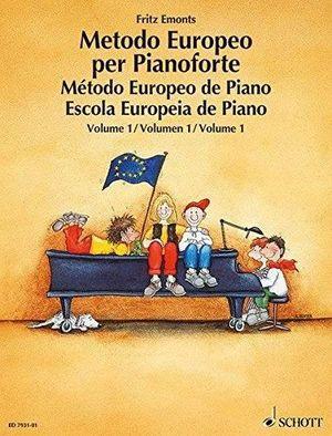 METODO EUROPEO DE PIANO VOLUMEN 1 SCHOTT