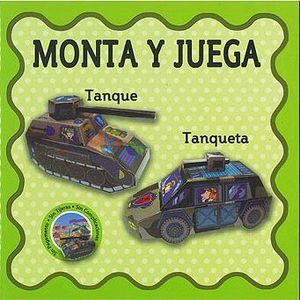 MONTA Y JUEGA TANQUE Y TANQUETA