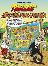MORTADELO Y FILEMON 208. MISION POR ESPAÑA
