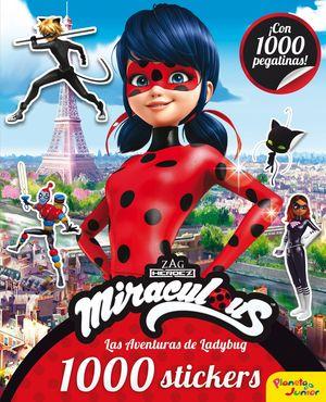 MIRACULOUS LAS AVENTURAS DE LADYBUG 1000 STICKERS