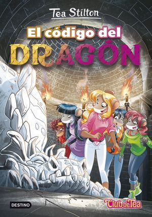 PACK TEA STILTON 1. EL CODIGO DEL DRAGON + PARCHE