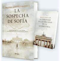 PACK TC LA SOSPECHA DE SOFIA + EL ESPIONAJE EN LAS DECADAS DE LA GUERRA FRIA