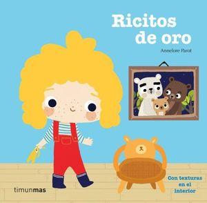 LIBRO TEXTURAS RICITOS DE ORO