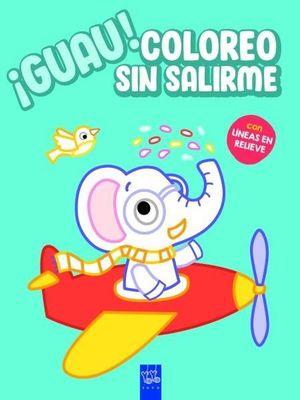GUAU COLOREO SIN SALIRME. AZUL