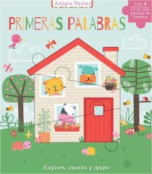 LIBRO PUZLE PRIMERAS PALABRAS AMIGOS PUZLE