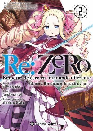 RE:ZERO CHAPTER 2 (MANGA) Nº 02