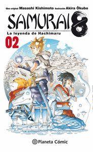 SAMURAI 8 Nº 02 LA LEYENDA DE HACHIMARU