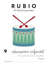 RUBIO EDUCACION INFANTIL 9. LOS INSTRUMENTOS MUSICALES