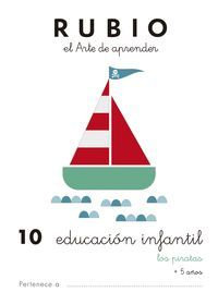 RUBIO EDUCACION INFANTIL 10. LOS PIRATAS