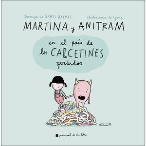 MARTINA Y ANITRAM PAIS CALCETINES PERDIDO