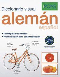 DISCCIONARIO PONS VISUAL ALEMAN/ESPAÑOL