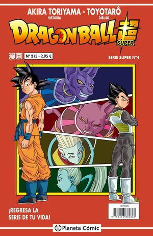 DRAGON BALL SERIE ROJA N 215