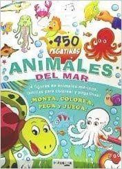 450 PEGATINAS ANIMALES DEL MAR
