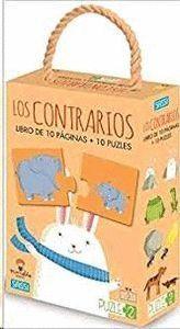 LOS CONTRARIOS LIBRO DE 10 PAGINAS + 10 PUZZLES